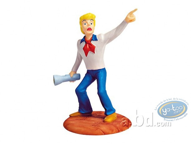 Resin Statuette, Scooby-Doo : Fred + lamp