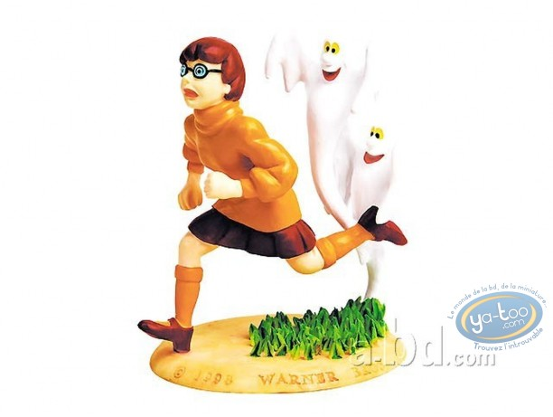 Resin Statuette, Scooby-Doo : Velma + ghost