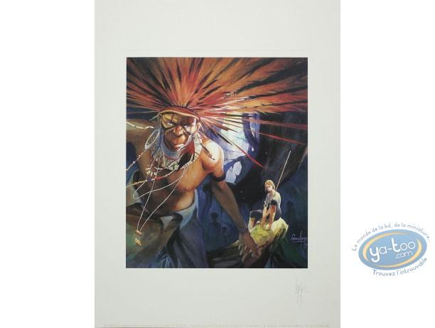 Offset Print, Terre Sans Mal (La) : Indian Chief