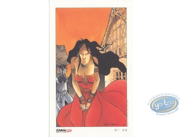 Bookplate Offset, Esmeralda (La) : Esmeralda