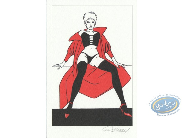 Bookplate Offset, Jessica Blandy : Red Cape