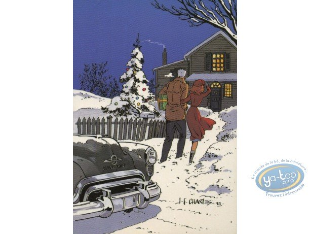 Post Card, Fox : Christmas and new Year holidays