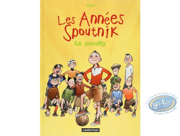 Listed European Comic Books, Années Spoutnik (Les) : Le Penalty