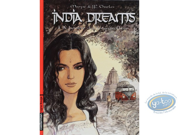 Listed European Comic Books, India Dreams : A L'ombre des Bougainvillees (very good condition)