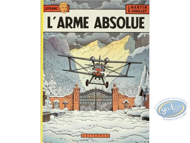 Listed European Comic Books, Lefranc : L'arme Absolue