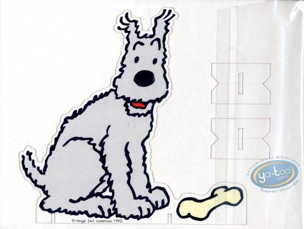 Bookplate Offset, Tintin : Milou (cardboard)