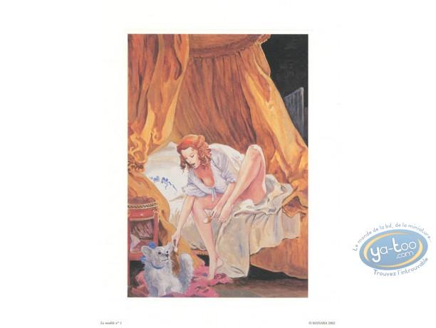 Offset Print, Manara : The Model N°1