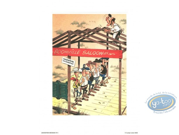 Offset Print, Lucky Luke : Saloon