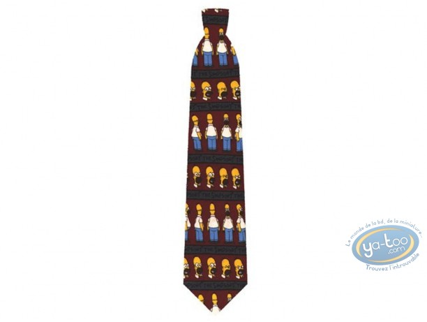 Clothes, Simpson (Les) : Simpson Homer head and body blue tie