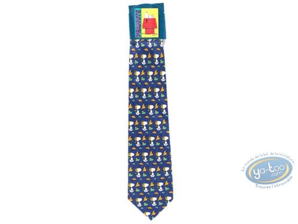 Clothes, Snoopy : Snoopy aviator blue tie