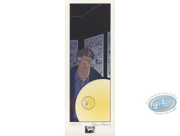 Bookplate Offset, Beluga : Lamp