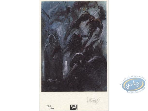 Bookplate Offset, Lièvre de Mars (Le) : Birds