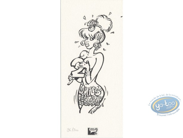 Bookplate Offset, Pin-Up : Pin-up comics festival