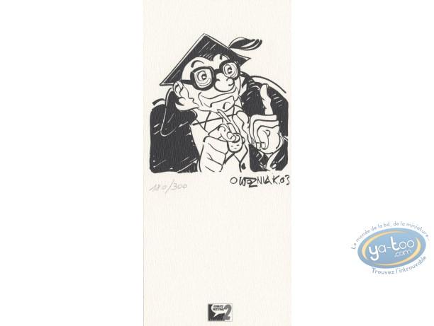 Bookplate Offset, Histoires de France : Story teller