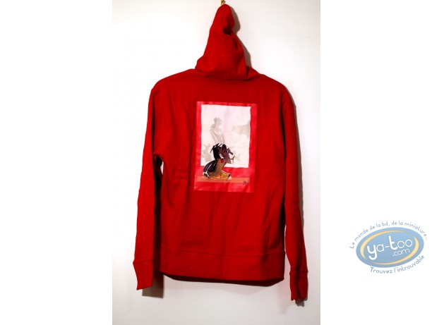 Clothes, Corto Maltese : Sweat-shirt, Corto Maltese : Hood Woman 04-02 size XS