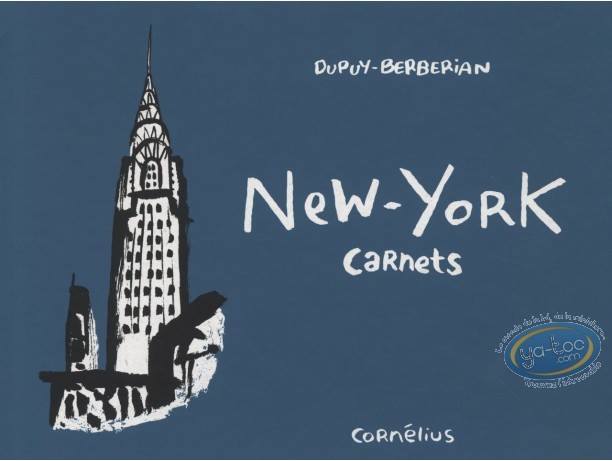 Listed European Comic Books, Carnets : New York