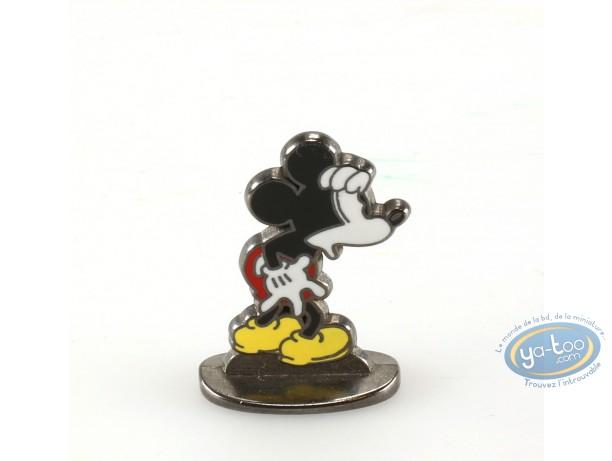 Metal Figurine, Mickey Mouse : The Blue Lotus ( bas relief), Disney