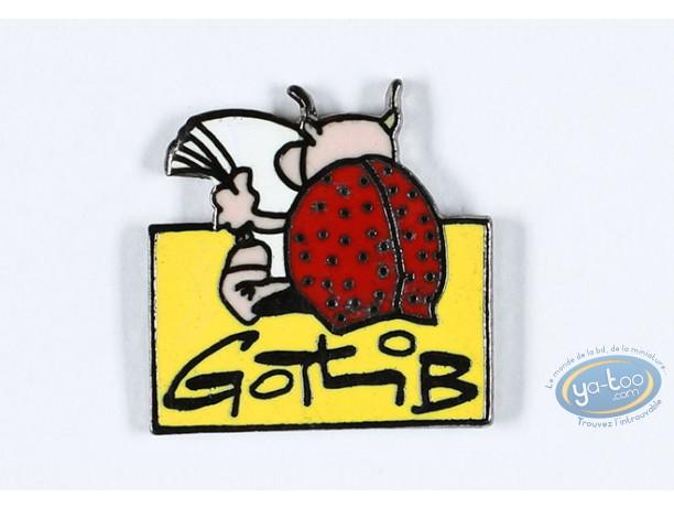 Pin's, Rubrique à Brac : Gotlib, The ladybug bed