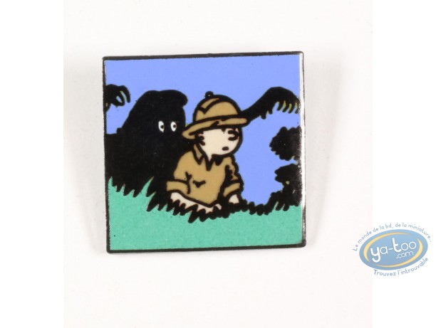Pin's, Tintin : Tintin and the man Leopard