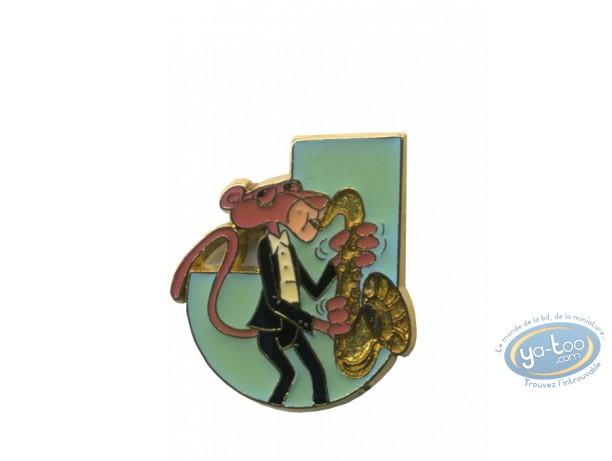Pin's, Panthère Rose (La) : The pink Panther saxophone