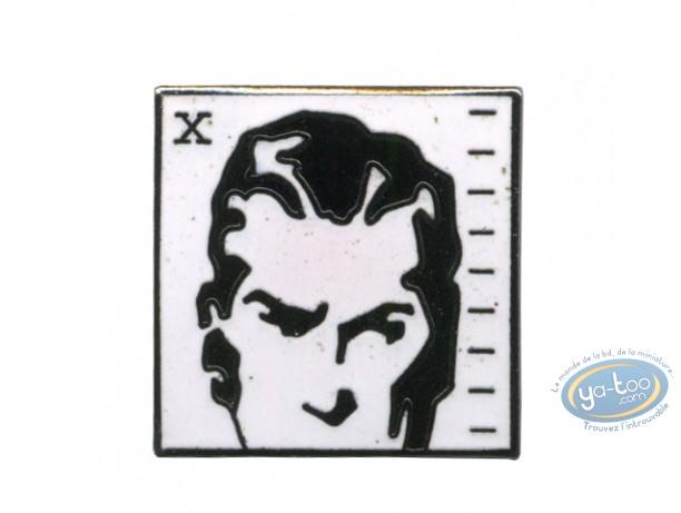 Pin's, Agent secret X9 : Secret agent X9