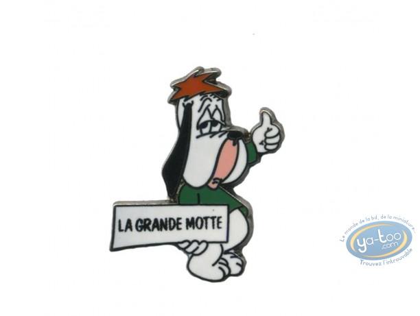 Pin's, Tex Avery : Droopy hitch-hiker 'La Grande-Motte'