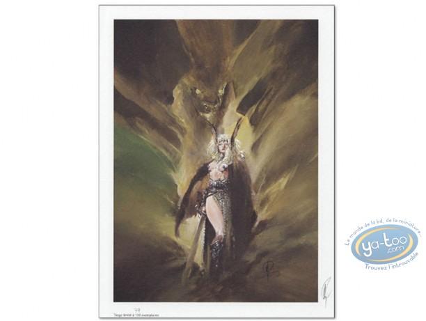 Offset Print, Varanda : Woman Warrior