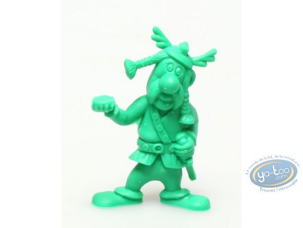 Plastic Figurine, Astérix : Mini Bulwark Holder (helmet with wings / dark green)