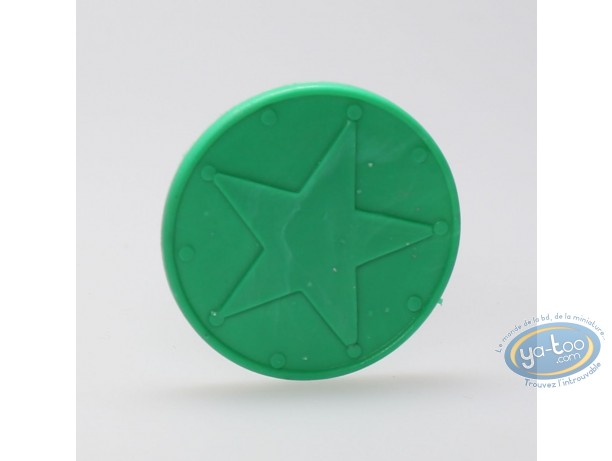 Plastic Figurine, Astérix : Mini Bulwark (green)