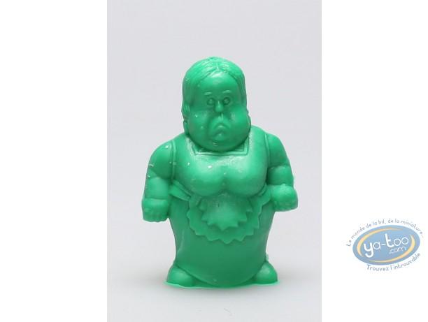 Plastic Figurine, Astérix : Mini Scarlatina Servant (green)