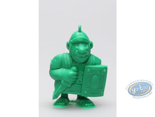 Plastic Figurine, Astérix : Mini Roman Legionary with sword (green)