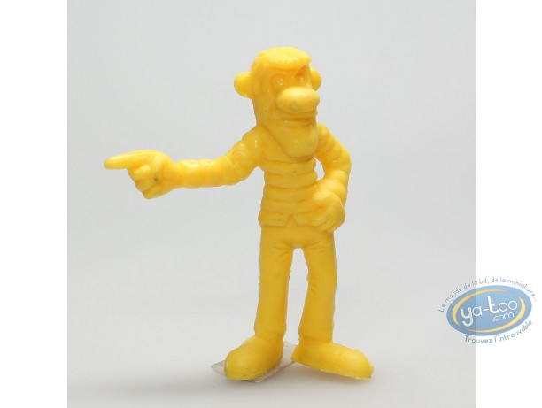 Plastic Figurine, Lucky Luke : William Dalton finger pointing (yellow)