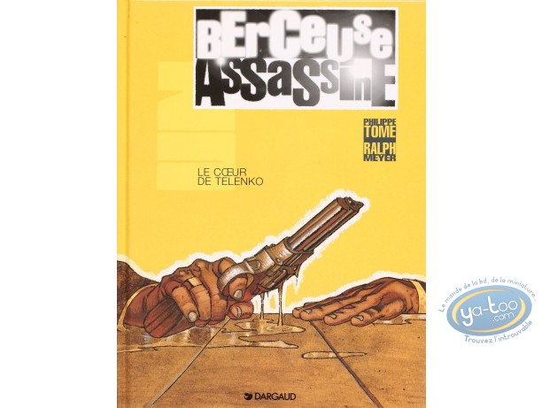 Listed European Comic Books, Berceuse Assassine : le Coeur de Telenko