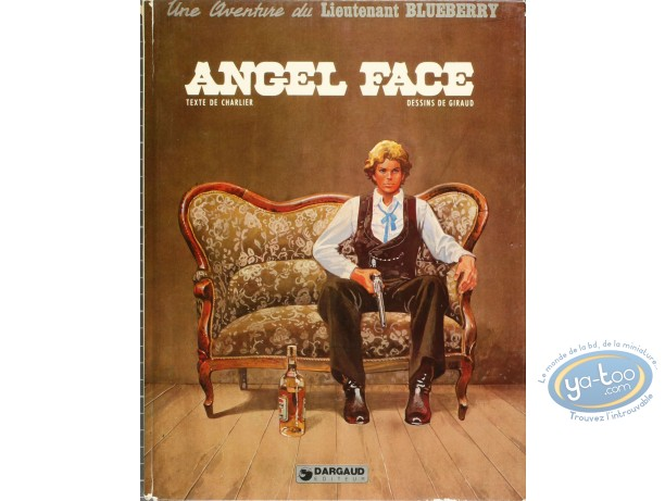 Listed European Comic Books, Blueberry : Angel Face (nearly good condition)