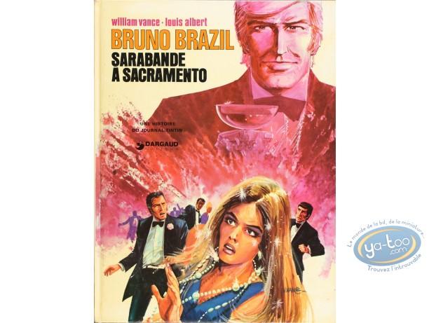 Listed European Comic Books, Bruno Brazil : Sarabande a Sacramento (good condition)