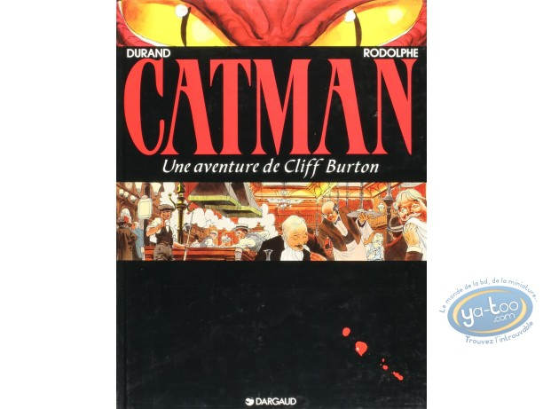Listed European Comic Books, Cliff Burton : Catman