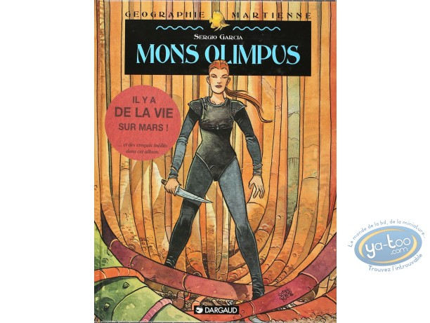 Listed European Comic Books, Géographie Martienne : Mons Olimpus (+ bookplate)