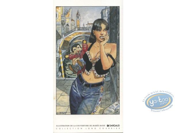 Bookplate Offset, Marée Basse : Woman & Plush