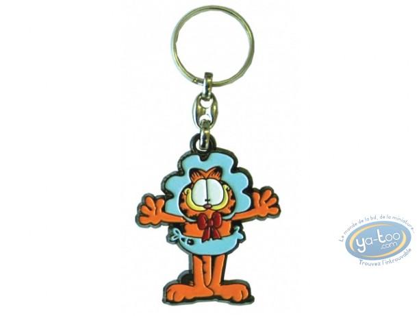 Metal Keyring, Garfield : Metal key ring, Davis, Garfield : Baby Garfield