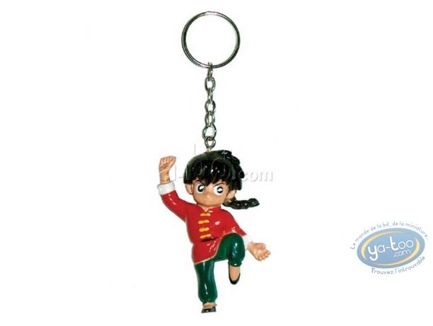 PVC Keyring, Ranma 1/2 : Key ring, Ranma 1/2 : Saotome Ranma boy