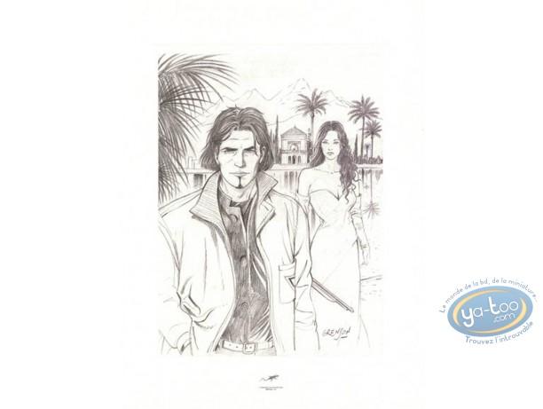 Offset Print, Niklos Koda : Sketch scene