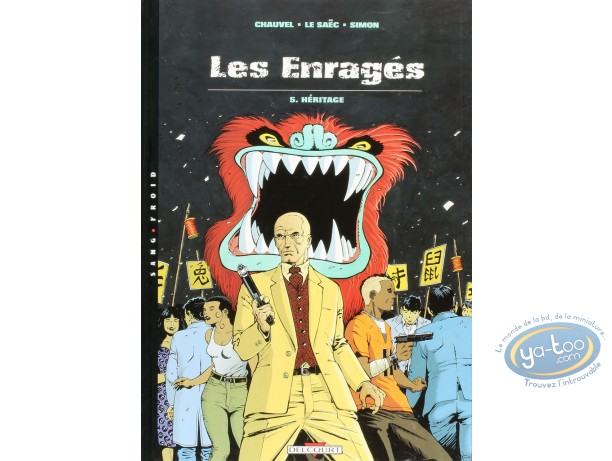 Listed European Comic Books, Enragés (Les) : Heritage