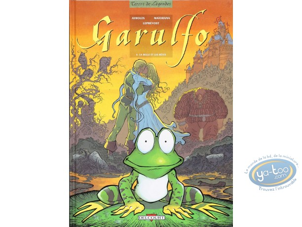 Listed European Comic Books, Garulfo : La belle et les betes