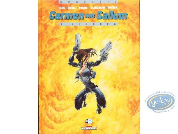 Listed European Comic Books, Carmen Mc Callum : Jukurpa (very good condition)