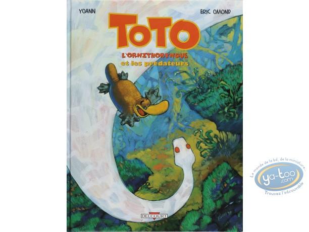 Listed European Comic Books, Toto l'Ornithorynque : Et les Predateurs (very good condition)