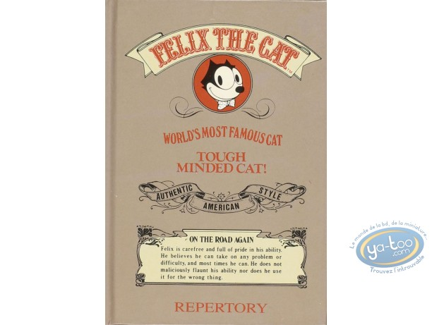 Address Book, Félix le Chat : Repertory, Felix the Cat (grey)