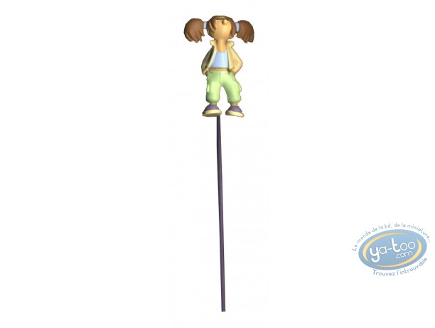 Office supply, Lili Varicelle : 3D Bookmark, Lili Varicelle (green trousers)