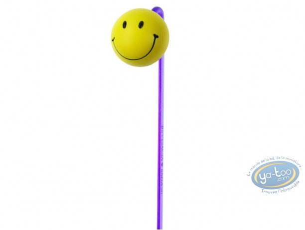 Office supply, Smiley : 3D bookmark, Happy Smiley