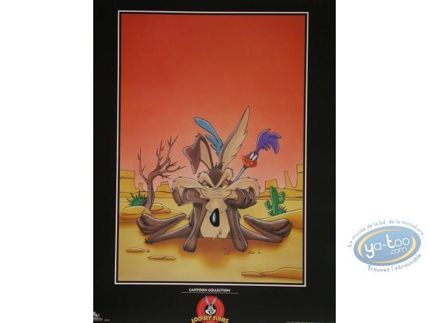 Offset Print, Vil Coyote : Wile E Coyote & Bip-Bip