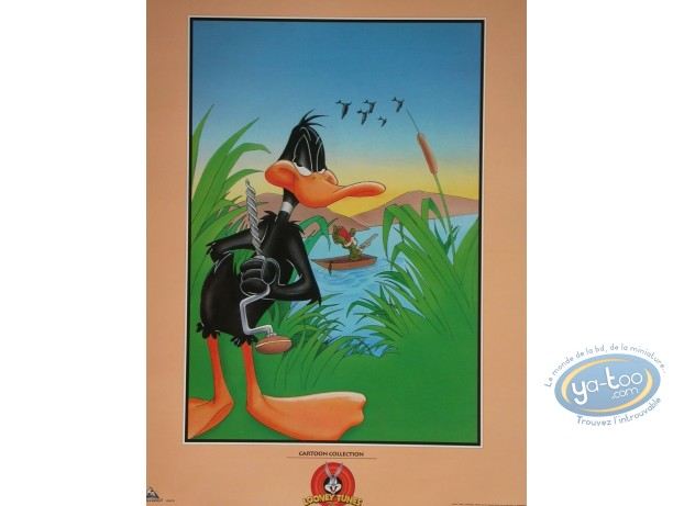Offset Print, Daffy Duck : Duck Hunting